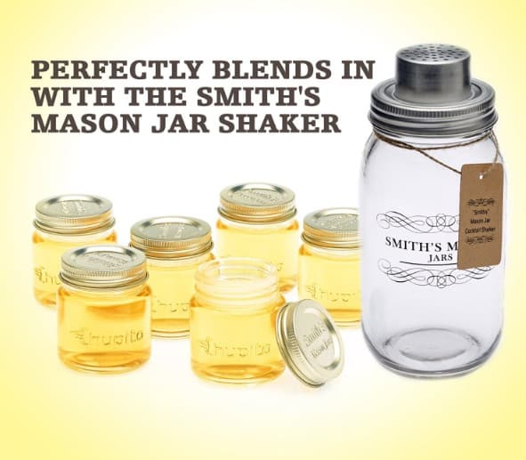 Mini Mason Jar Shot Glasses