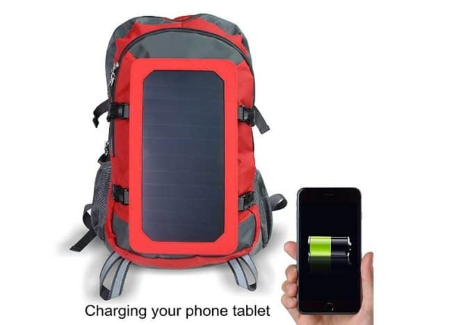 Wosports Solar Backpack