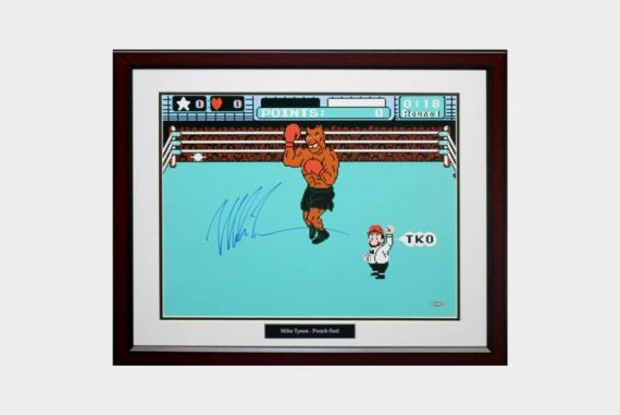 mike-tyson-autographed-punch-out-photo-frame