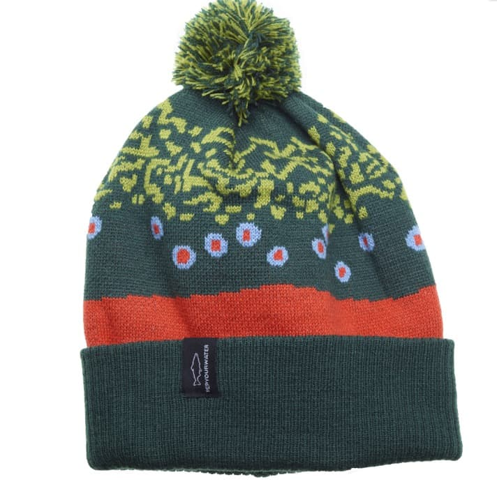 Brook Trout Skin Knit Hat