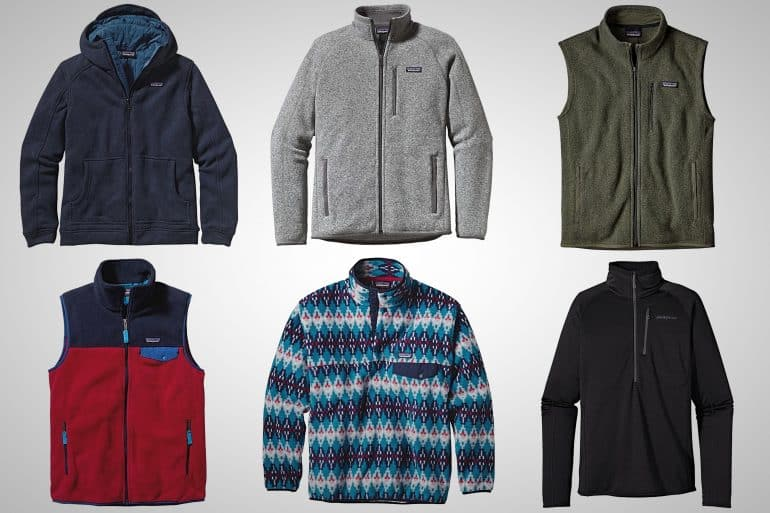 Men's Fleece Jackets And Vests From Patagonia Will Keep You Warm