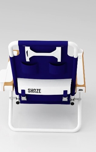 The Shaze Lounge Chair Features A Cooler And Bluetooth