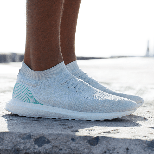 new style ef9ec 4672f Adidas x Parley UltraBOOST Uncaged Are Made From Ocean Waste