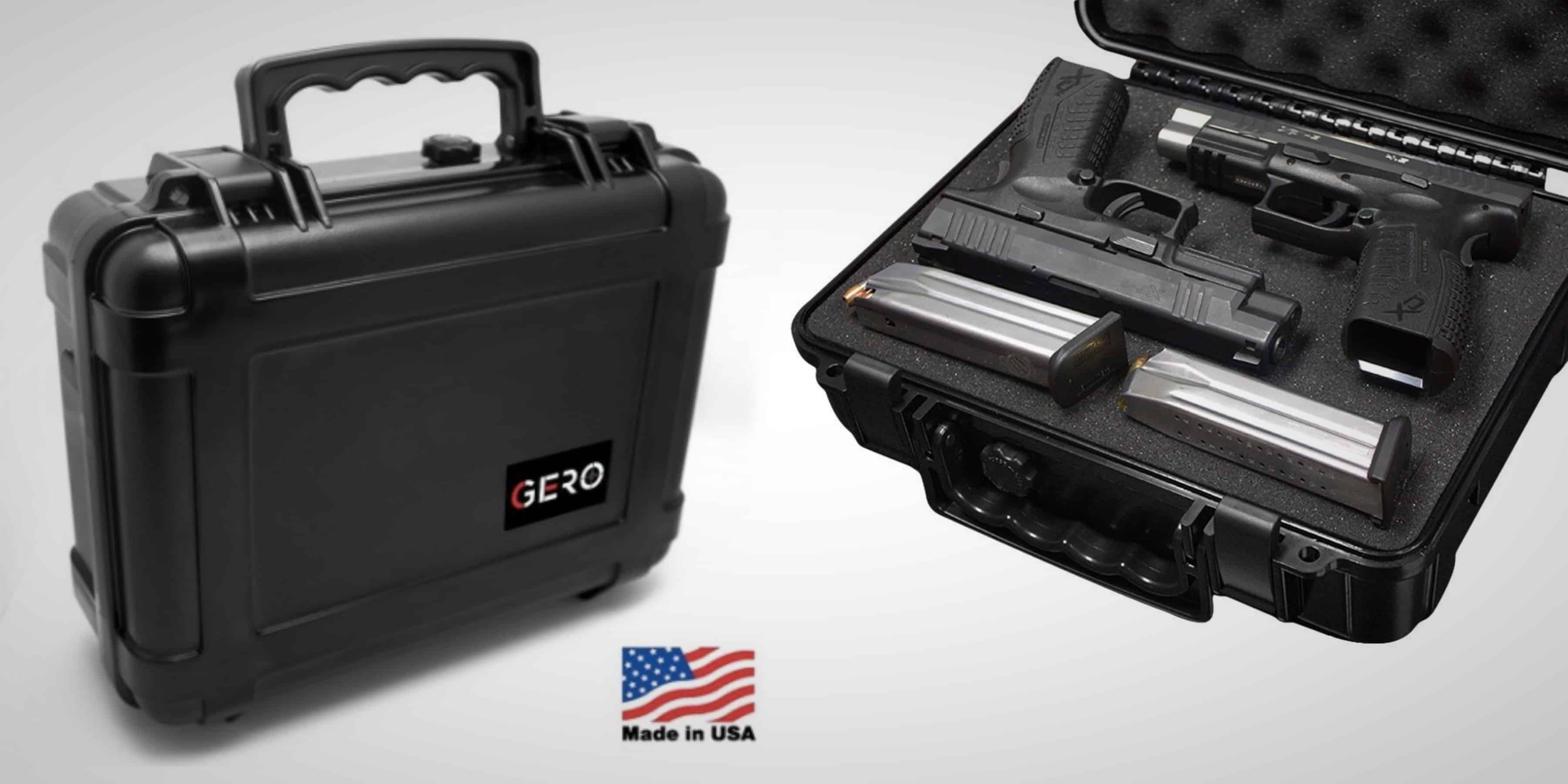 Gero Watertight Pistol Gun Case