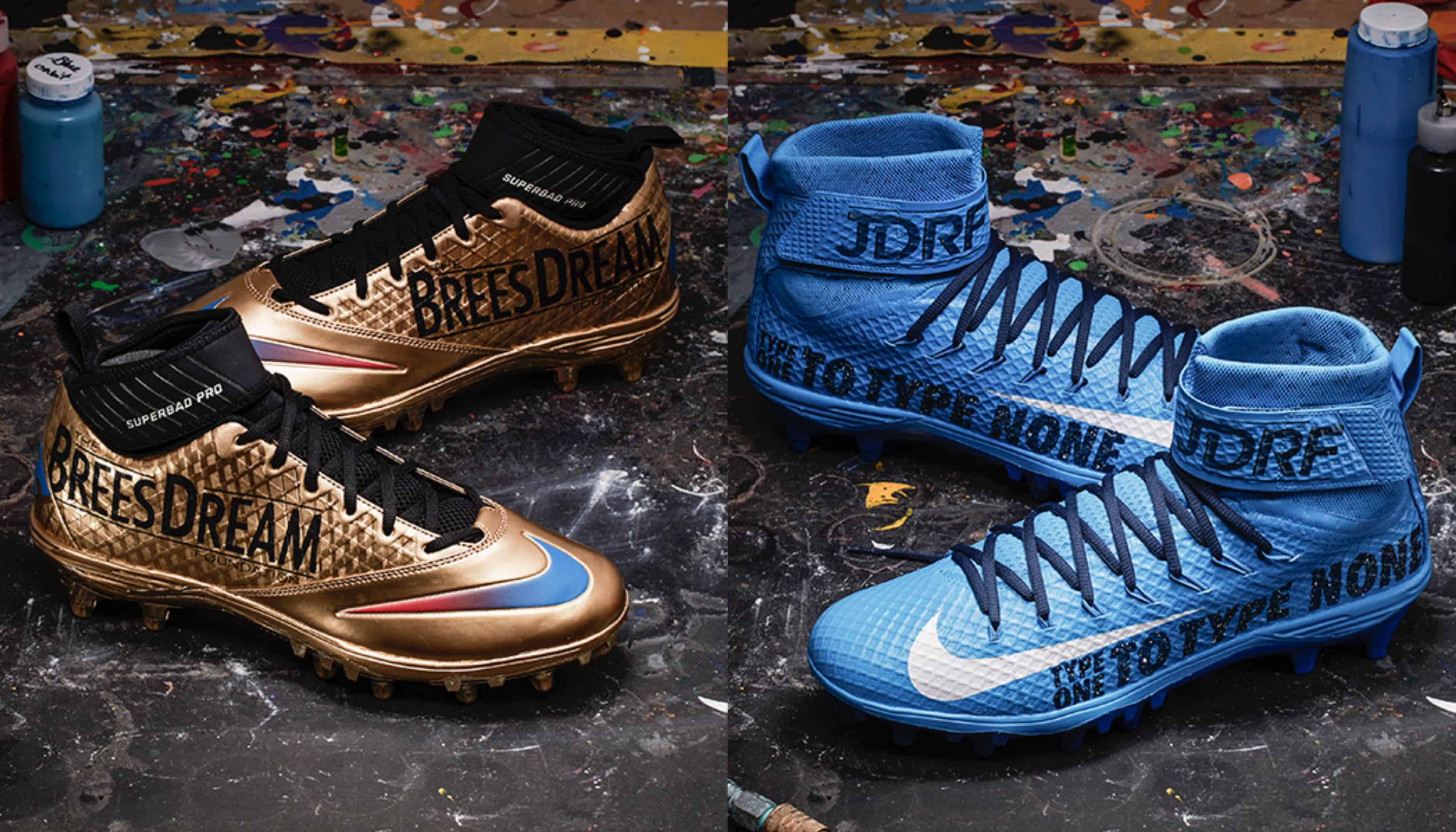 449d6263f 33 NFL Players Created Custom Nike Cleats That Support Their Favorite  Charities