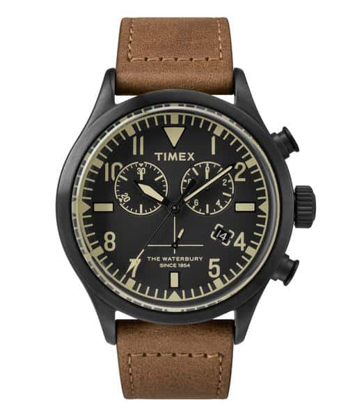 timex-red-wing-shoe-leather-chronograph