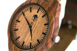 Viable Harvest - Men's Wood Watch