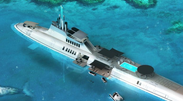 The Migaloo Submarine Superyacht Could Be Yours For A Cool $2 3 Billion