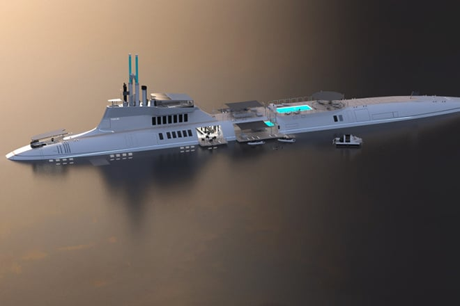 The Migaloo Submarine Superyacht Could Be Yours For A Cool