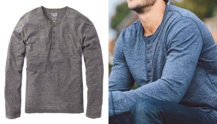 12 best henley shirts for men long sleeve the daily want for Best shirts for men