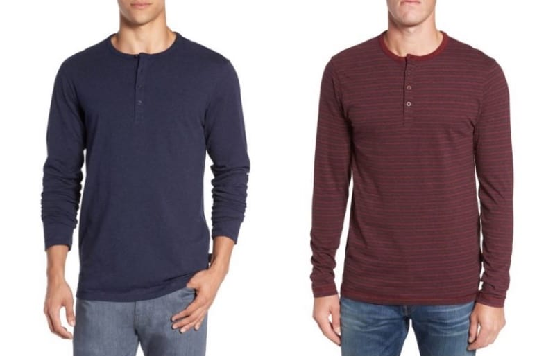 best henley shirts