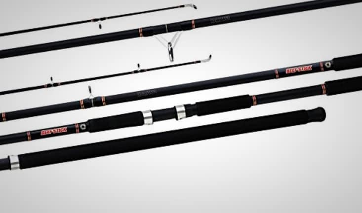 11 best saltwater fishing rods for all types of fishing for Best pier fishing rod
