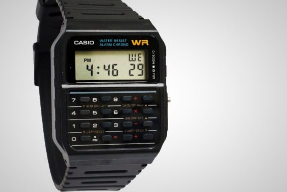 Casio Calculator Watch Men's Retro