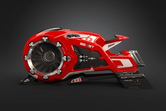 The Beast Hoverbike