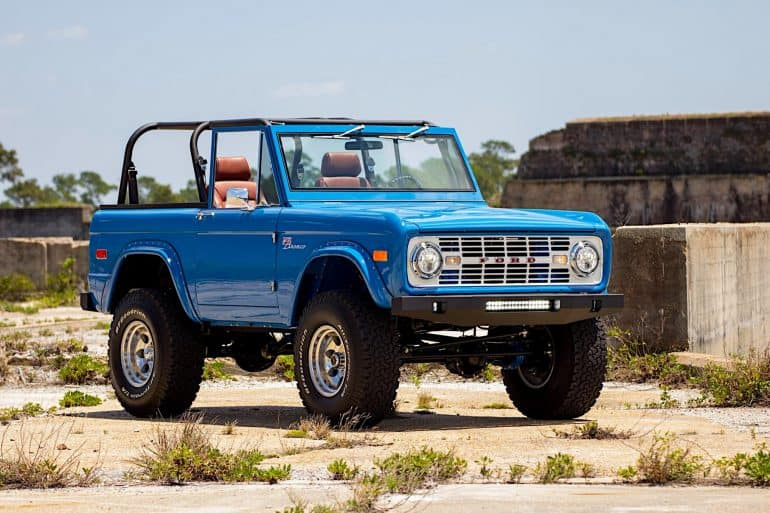 This 1976 Ford Bronco Restoration Has Me Wanting To Rob A Bank