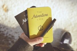 adventure log pocket notebook
