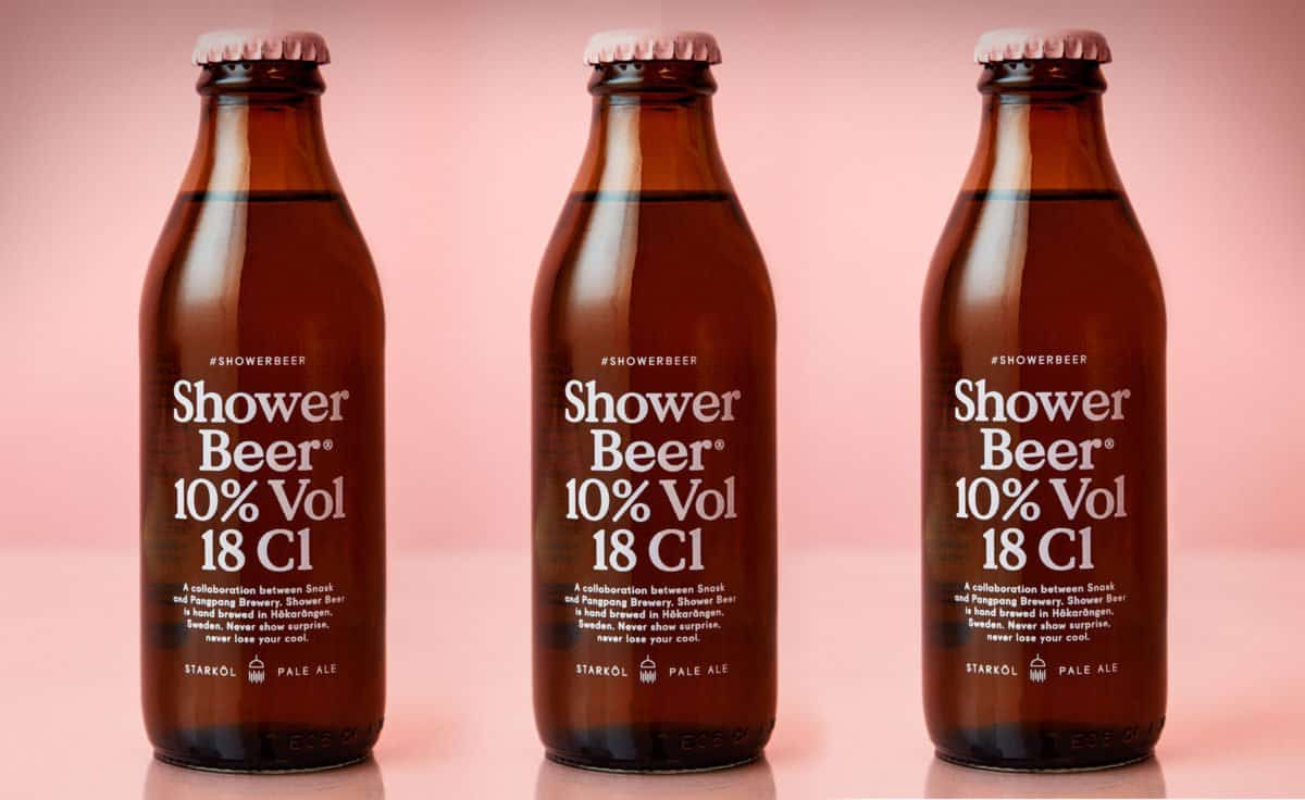 Shower Beer By Snask Amp Pangpang The Daily Want