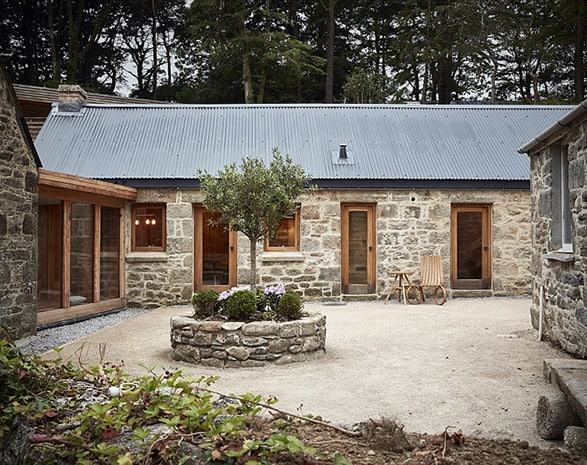 cornwall wooden home