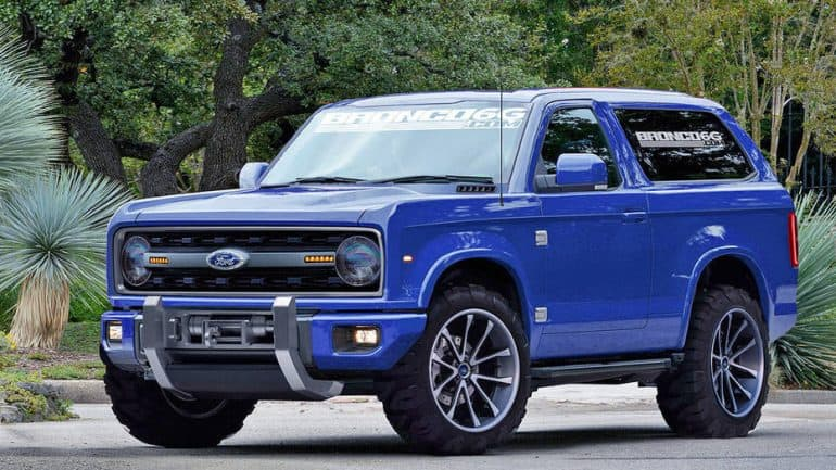 Ford Bronco 2020 Release Date Concept