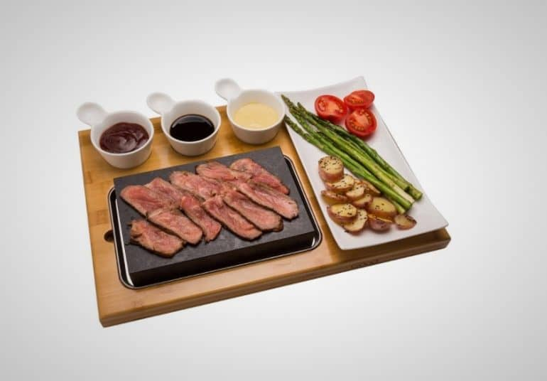 Tabletop Hibachi Grilling Stone
