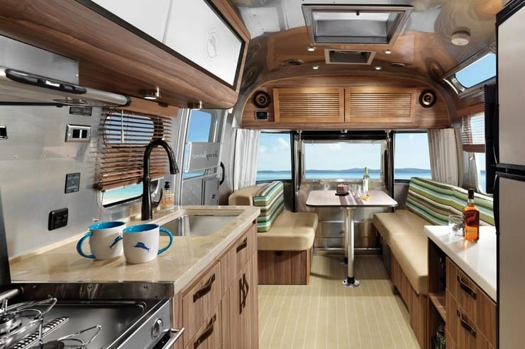 The Tommy Bahama Travel Trailer