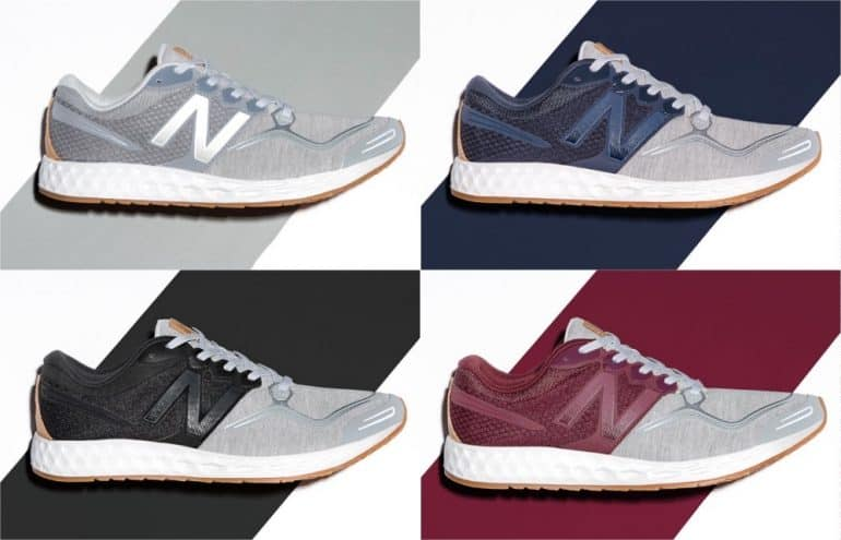 professional sale the sale of shoes innovative design New Balance Fresh Foam Zante Sweatshirt Sneakers - The Daily ...
