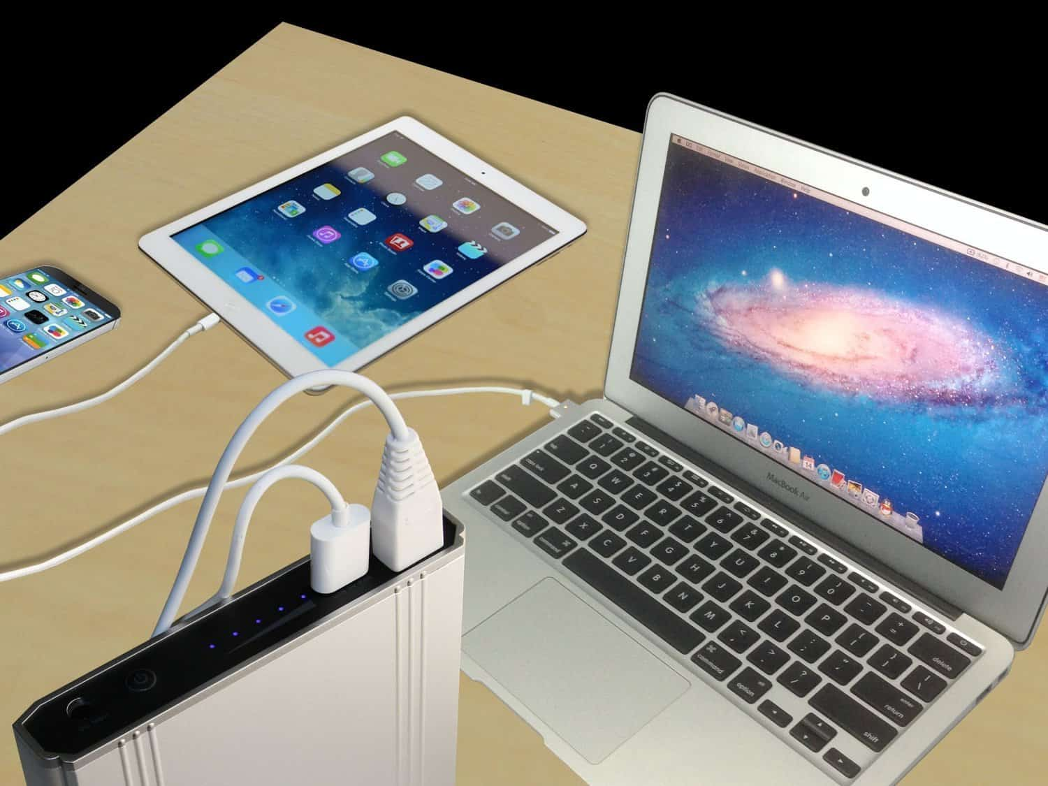 The Lizone Extra Pro Portable Charger Works For Macbooks