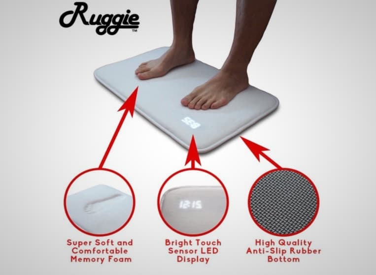 Ruggie Alarm Clock