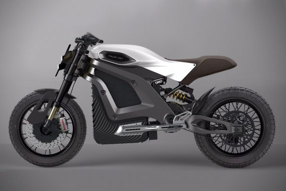 Italian Volt Electric Motorcycle