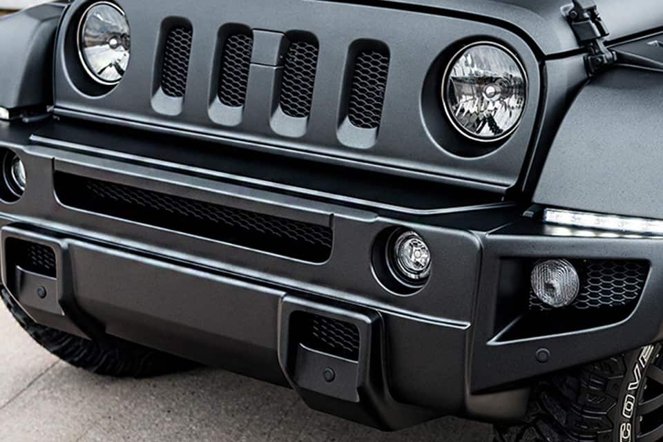 Jeep Wrangler Black Hawk Edition