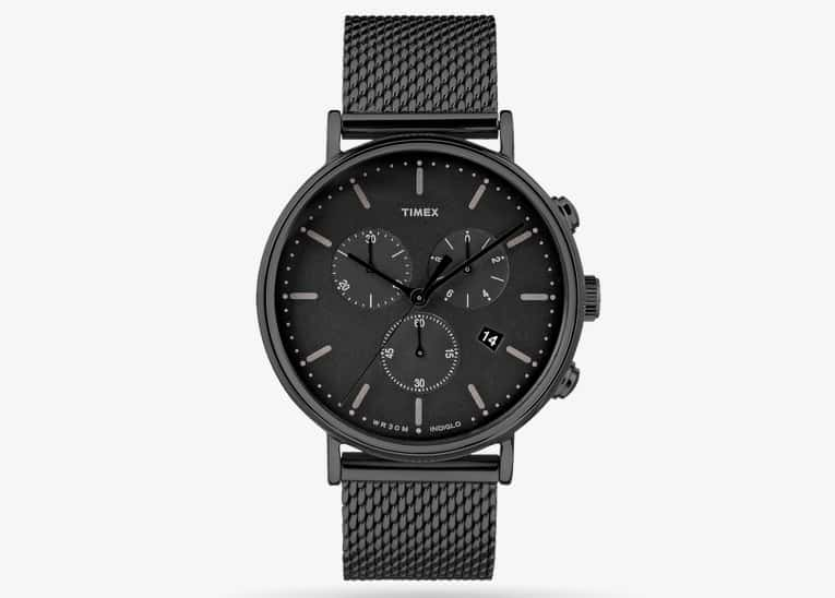 Timex Fairfield Chronograph black