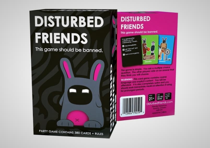 Disturbed Friends Card Game