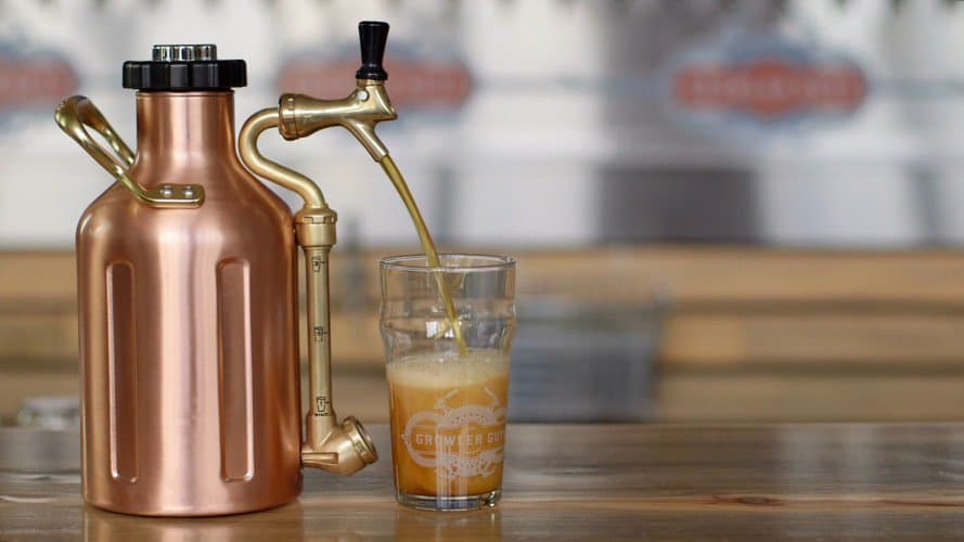 GrowlerWerks uKeg growler