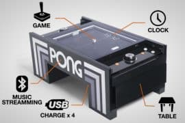 pong coffee table