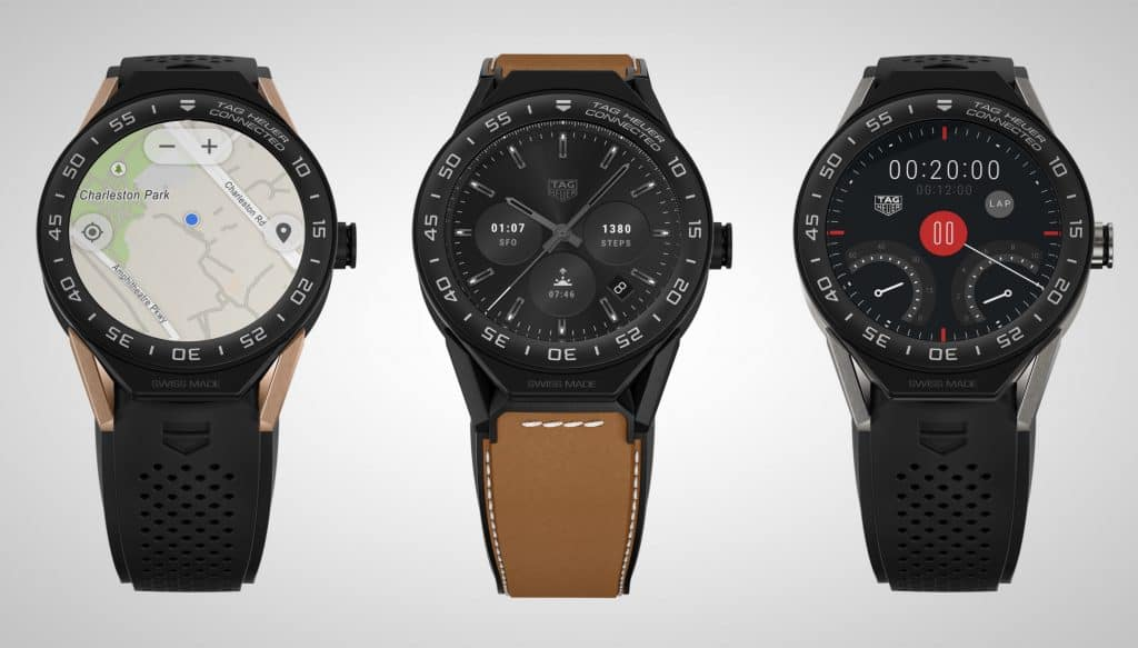 The Tag Heuer Connected Modular 45 Smartwatch Collection ...