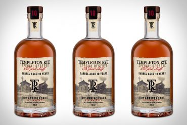 Templeton Rye Special Reserve Whiskey