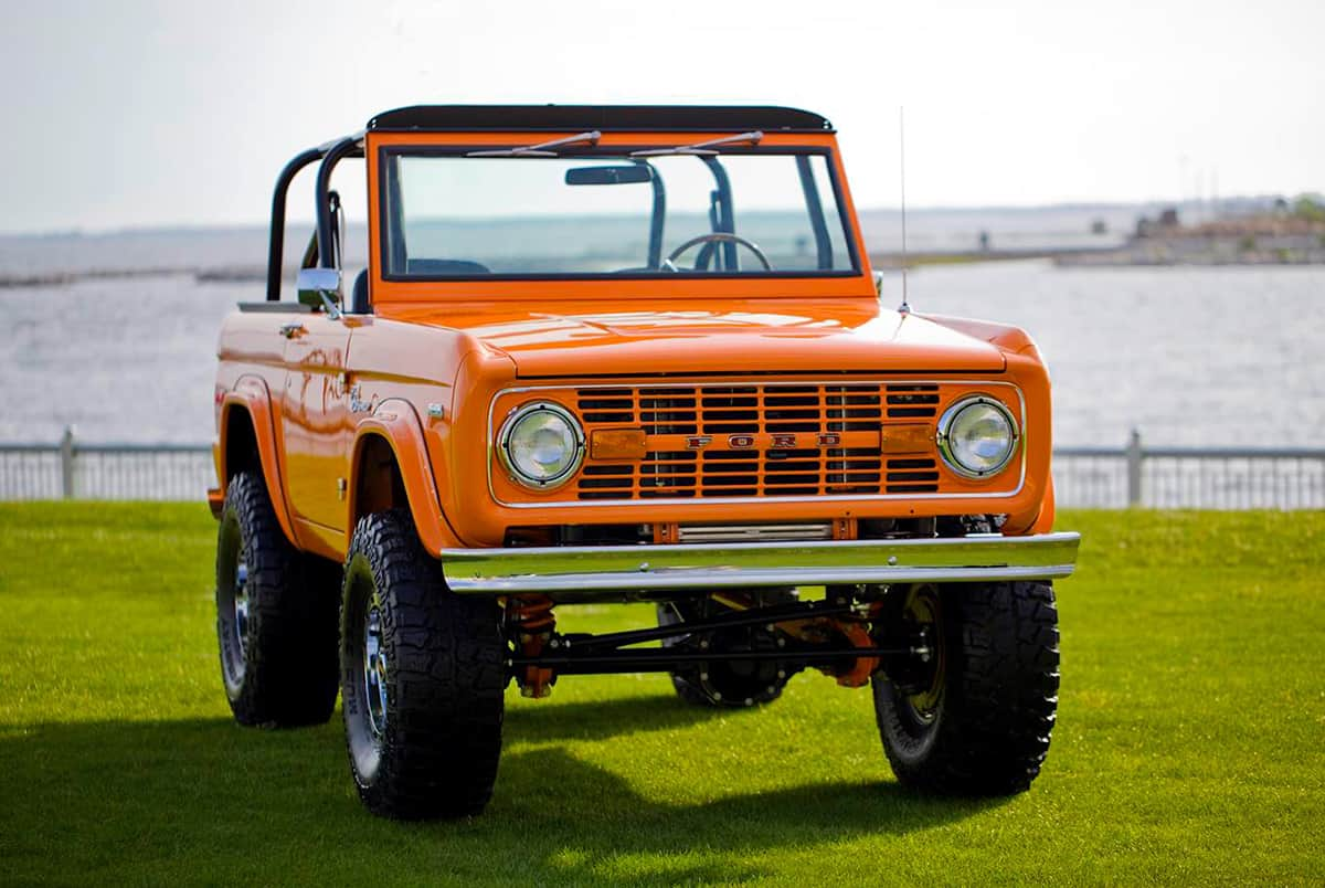 1972 classic ford bronco coyote