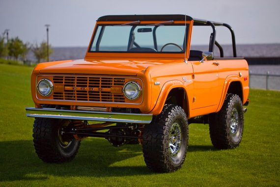 1972 ford bronco coyote