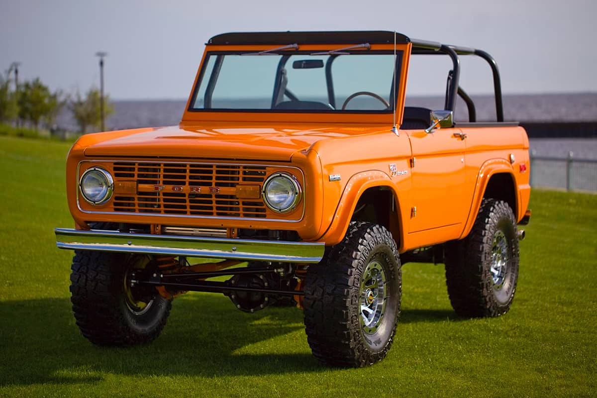 This Classic 1972 Ford Bronco Coyote Was Restored To Utter Perfection