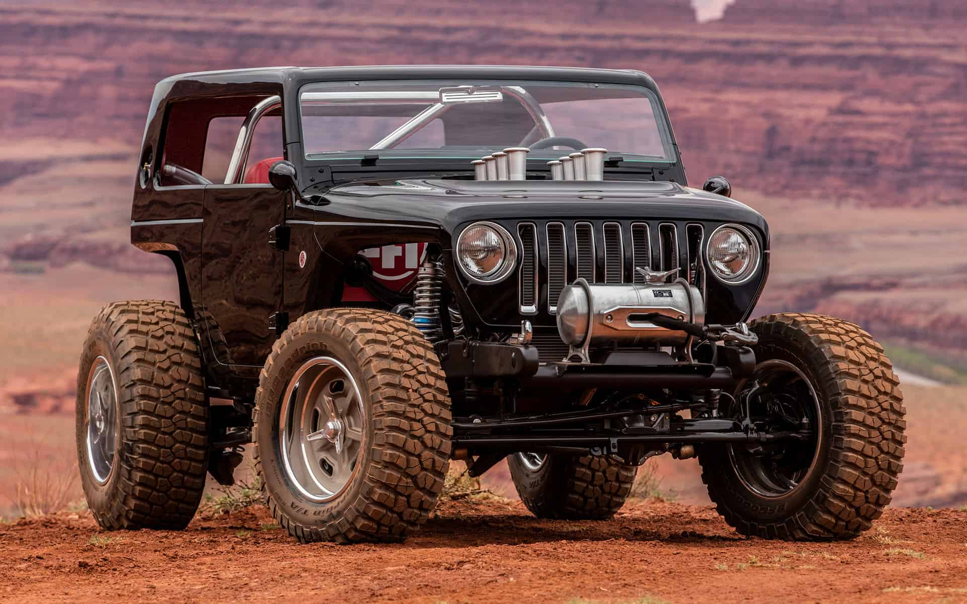 This Boosted Jeep CJ5 is Ready for Drag Racing Action