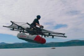 kitty hawk flying car