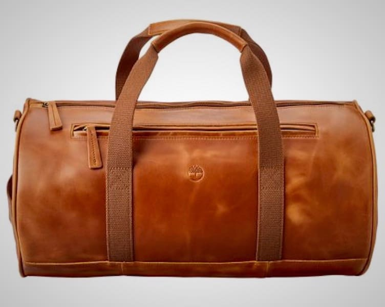 Timberland Tuckerman Leather Duffle Bag