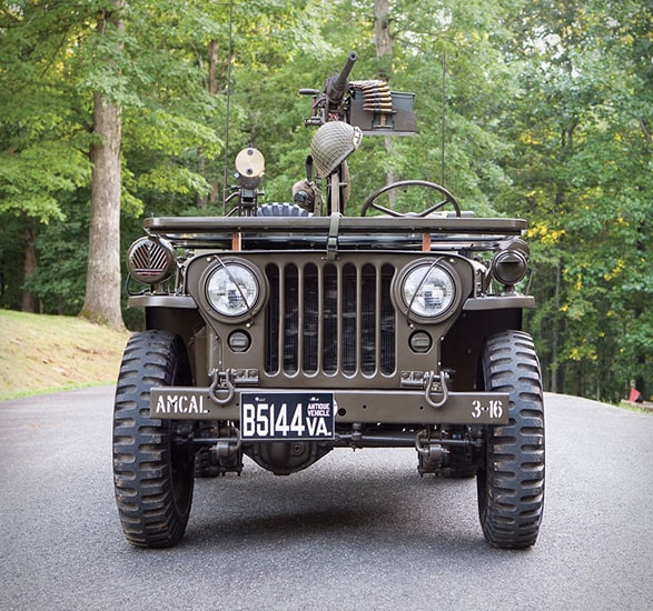 1951 Willys M38 Jeep