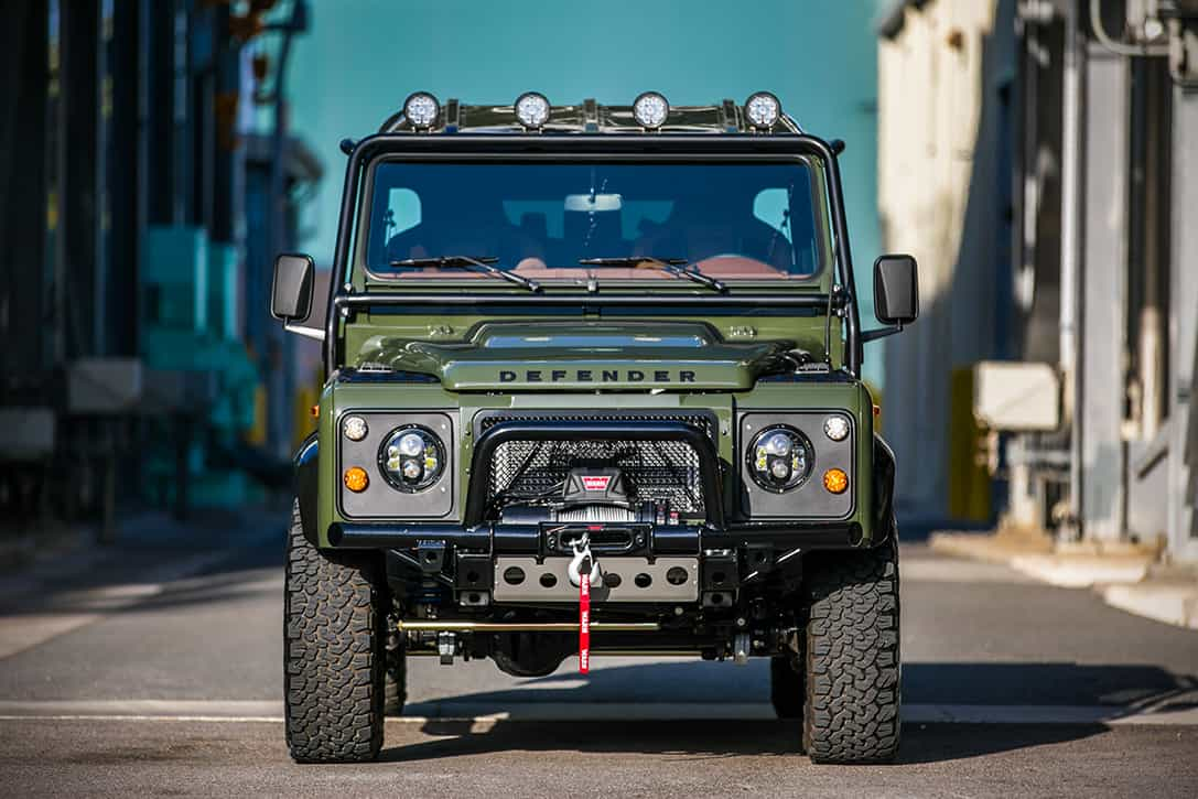 The Land Rover Defender 130 'The Huntress' Comes With ...