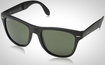 Folding Ray-Ban Wayfarer Sunglasses