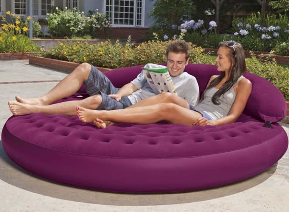 Intex Ultra Daybed Inflatable Lounge Is Perfect For