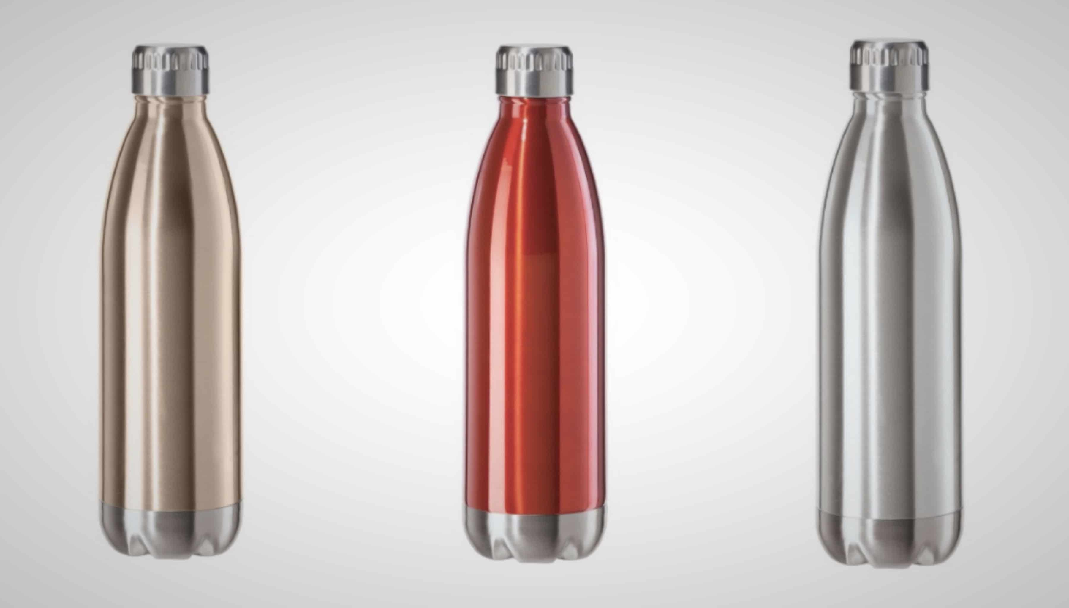 Oggi S Stainless Steel Calypso Double Wall Sports Bottle Comes In 9 Colors