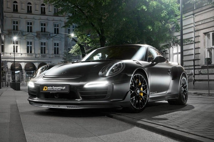 Porsche Dark Knight 911 Turbo S