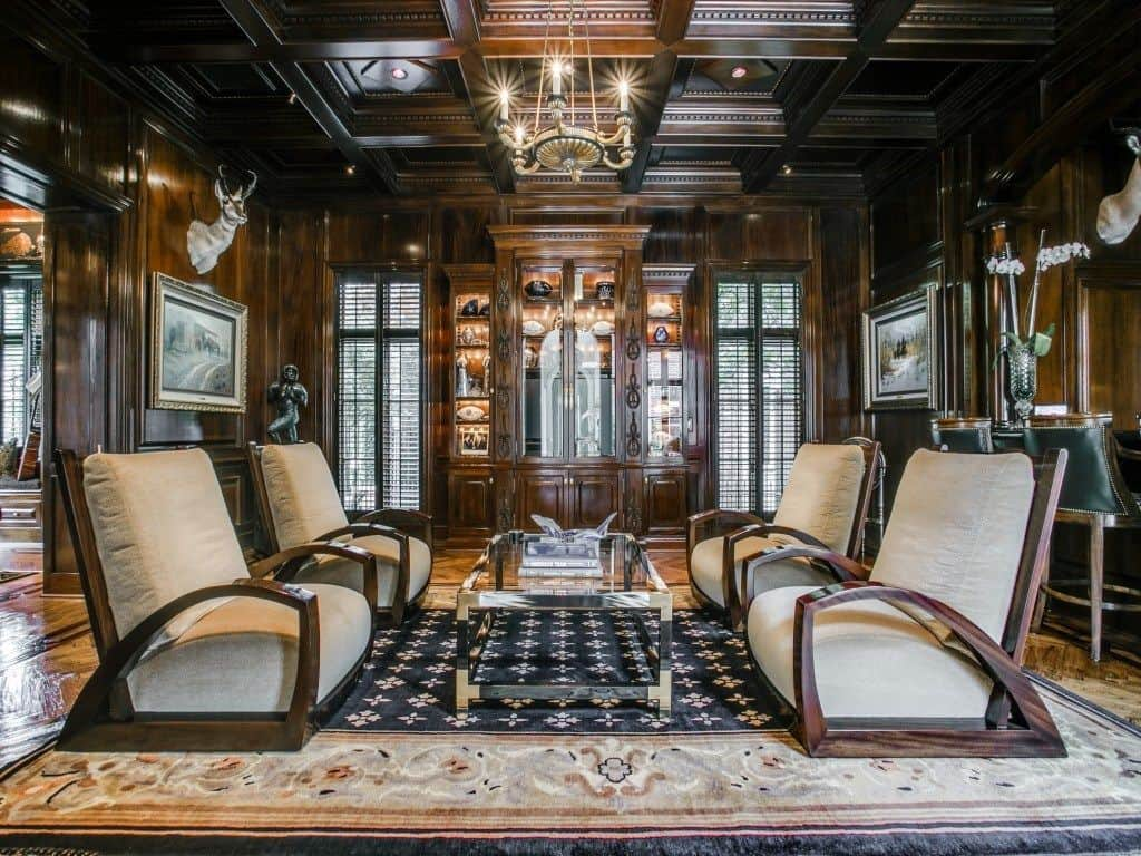 Dallas Cowboys CEO Stephen Jones Mansion Highland Park