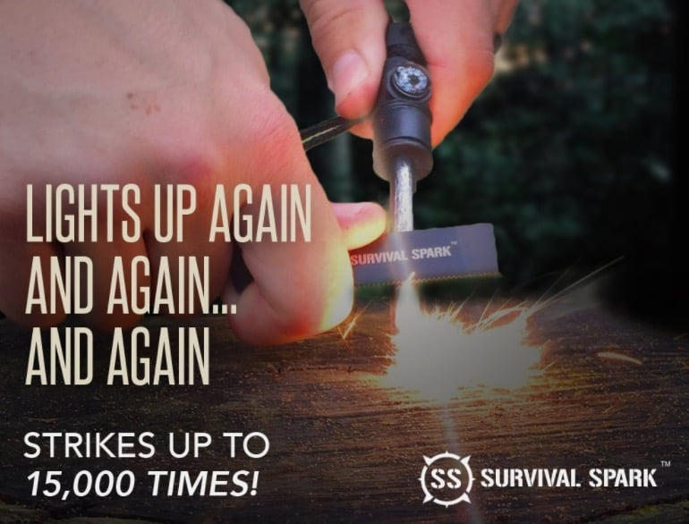 magnesium fire starter kit